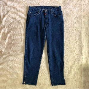 Ralph Lauren Vintage Ankle Zip Capri Jeans